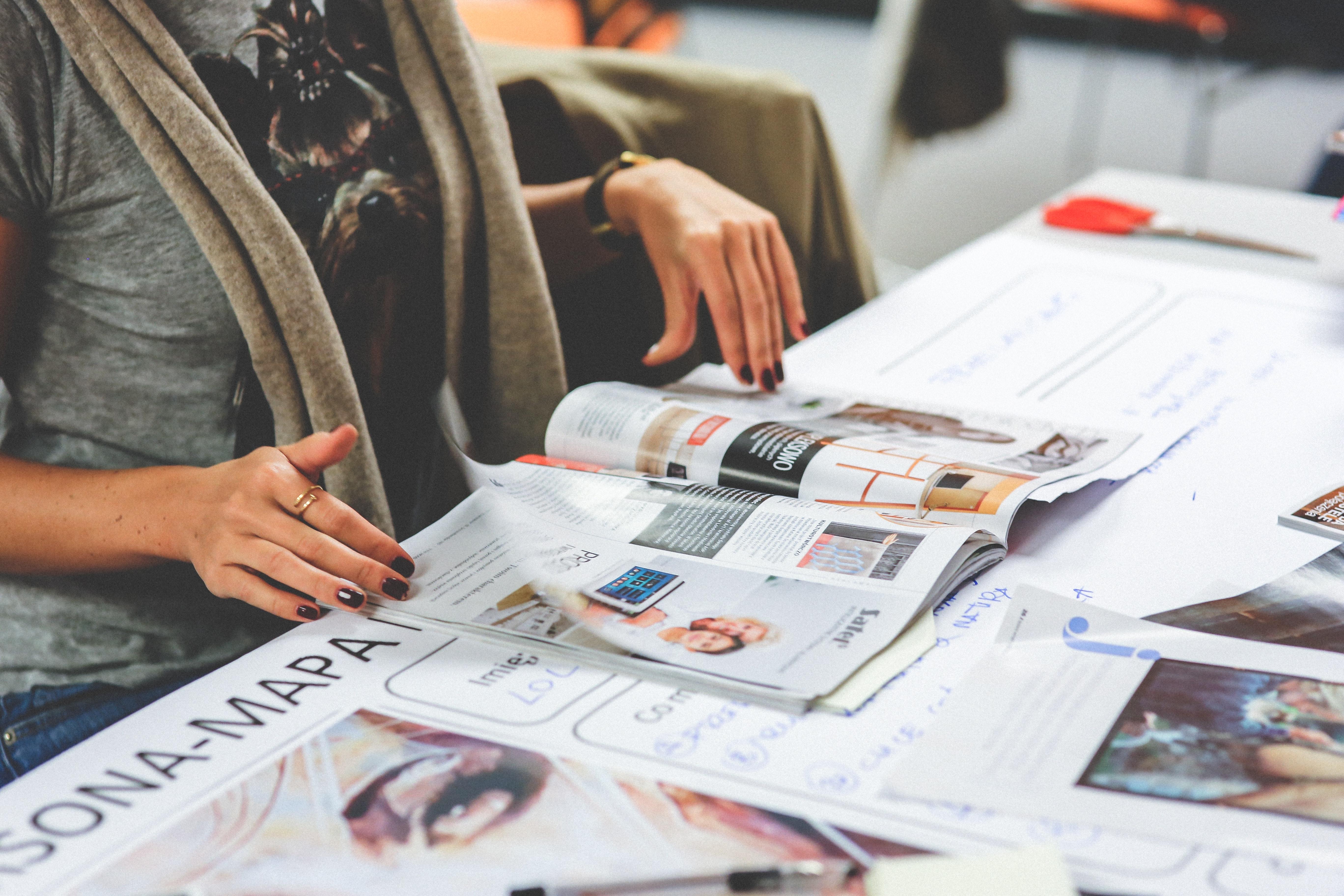 Focus sur le print, car il n'y a pas que le web dans la vie !